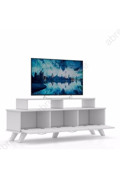 Abre 451 Beyaz Tv Unitesi Lcd Sehpası