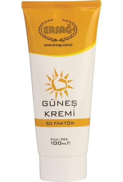 Ersağ 50 Faktör Güneş Kremi 100 ml