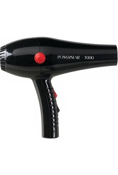 Powerstar 3000 Salon Tip Profesyonel Fön Makinesi 2500W