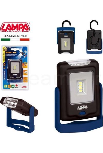 Lampa GL-1 2W Smd Led Seyyar Lamba / 0,2W Led El Feneri 70638