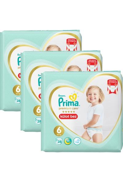 Prima Premium Care Külot Bebek Bezi 6 Beden Aylık Fırsat Paketi 84 Adet