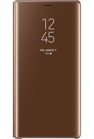 Samsung Note 9 Clear View Standing Kılıf (Bronz)-EF-ZN960CAEGWW