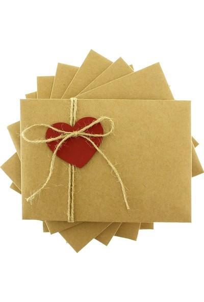 Crowera Aşk Adası Düğün Davetiyesi ve Zarfı