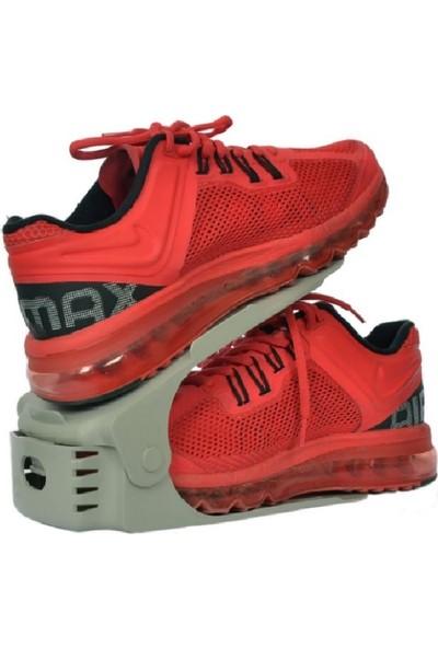 Yükseklik Ayarlı Ayakkabı Rampası (8 Adet) 3 Kademeli, Yükseklik Ayarlı, Fonksiyonel Tasarım