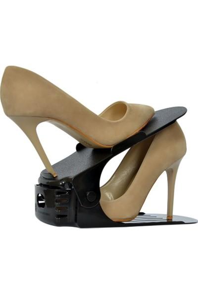 Yükseklik Ayarlı Ayakkabı Rampası (12 Adet) 3 Kademeli, Yükseklik Ayarlı, Fonksiyonel Tasarım