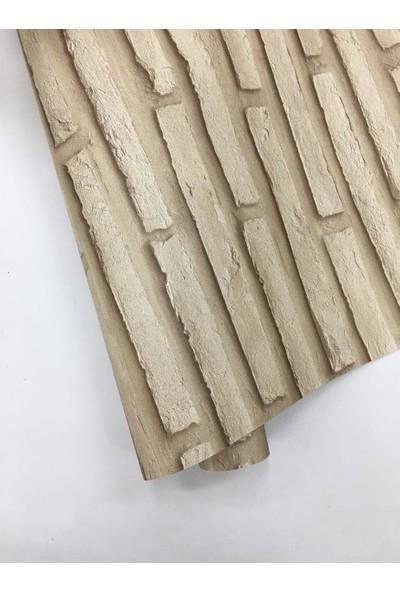 Dekor Taş Desenli Duvar Kağıdı 1065 C