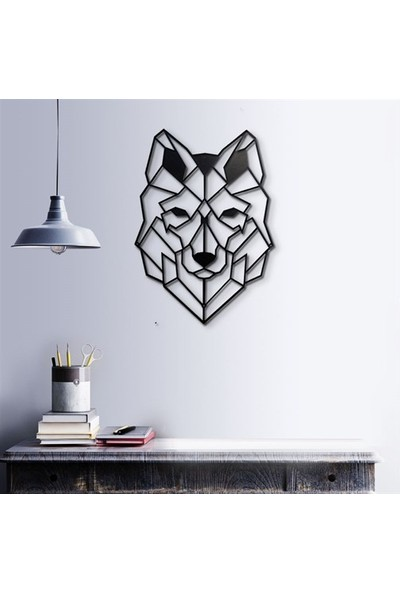 Baupor Metal Dekor Wolf