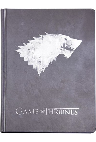 Game Of Thrones Stark Büyük Boy Not Defteri