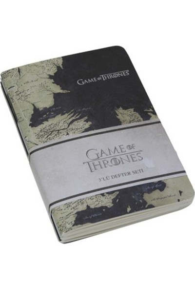 Game Of Thrones 3'lü Not Defteri Seti