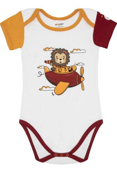 Galatasaray Lisanslı 4 Yıldız Bebek Body