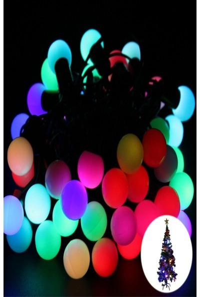 Buffer Minik Top 40 Ledli Dolama Dekor Işıkları (RGB 5m.)