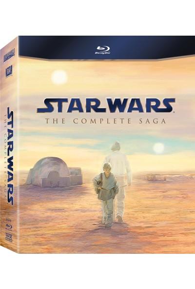 Star Wars The Complate Saga (Blu-Ray) 9 Disk