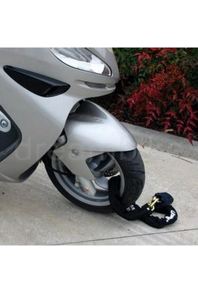 Lampa Kiton Yüksek Güvenlikte Çelik Motosiklet Kilidi 120cm