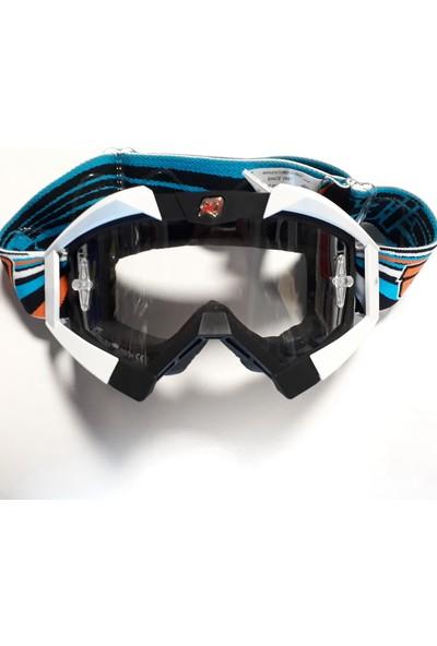 Ariete 13950NBAR Riding Crows Goggles Motocross Gözlüğü