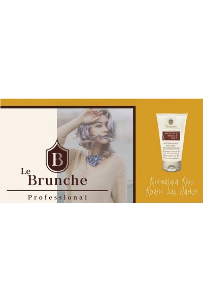 Le Brunche Antı Breakage Keratıne Treatment Mask