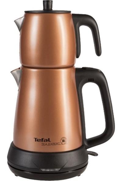 Tefal Tea Expert Çelik Demlikli Çay Makinesi [Karamel] - 1510001440