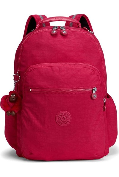 Kipling Seoul Go Sırt Çantası True Pink K2131609F