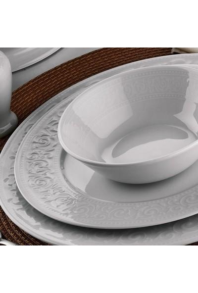 Kütahya Porselen Açelya 53 Parça Yemek Takımı