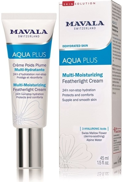Mavala Aqua Plus Nemlendirici Krem 45 ml