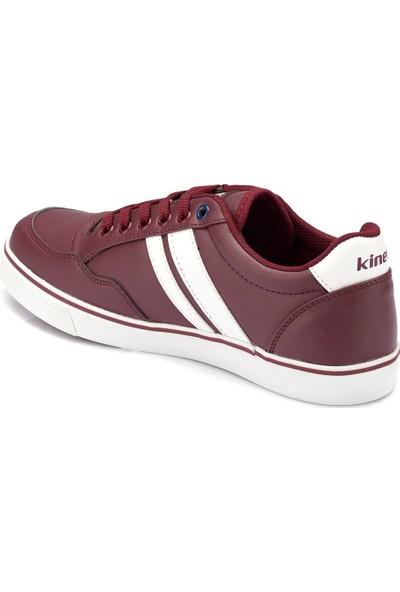 Kinetix Pontech Pu Bordo Beyaz Erkek Sneaker