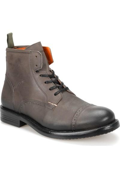 Ambitious 7526 Gri Erkek Deri Ayakkabı