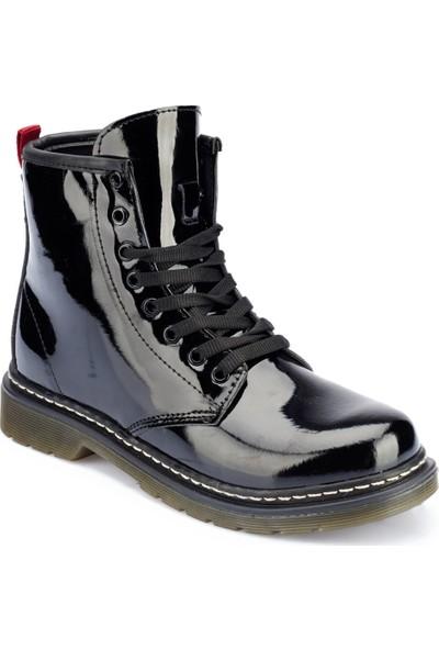 Polaris 82.309185.Z Siyah Kadın Ayakkabı
