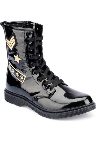 Polaris 82.312400Rz Siyah Kadın Askeri Bot