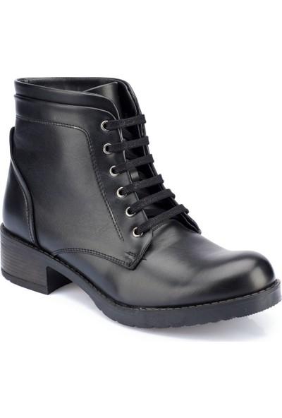 Polaris 82.354258.Z Siyah Kadın Ayakkabı