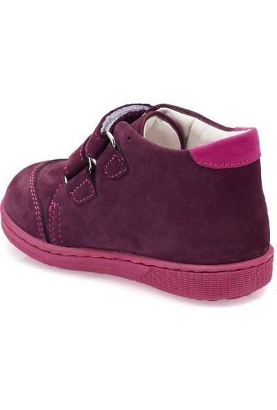 Polaris 82.510508.İ Mor Kız Çocuk Deri Sneaker Ayakkabı