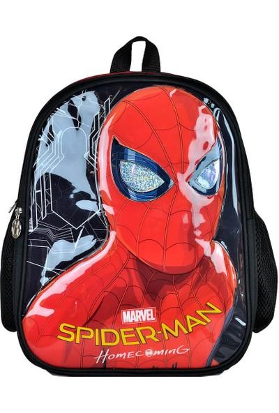 Spiderman 95346 Siyah Kırmızı Erkek Çocuk Okul Çantası