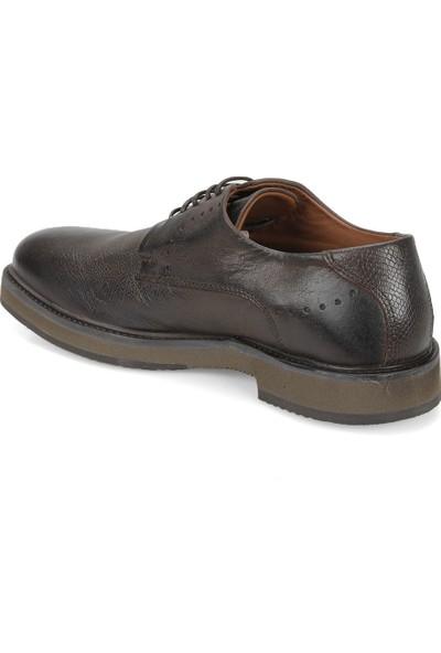Freemood A128-101 Kahverengi Erkek Deri Ayakkabı
