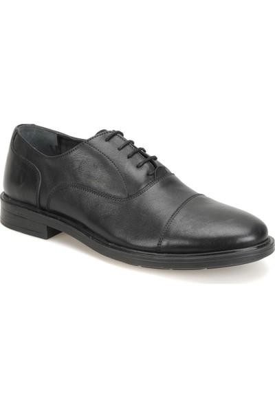 Garamond C-57 Siyah Erkek Deri Ayakkabı