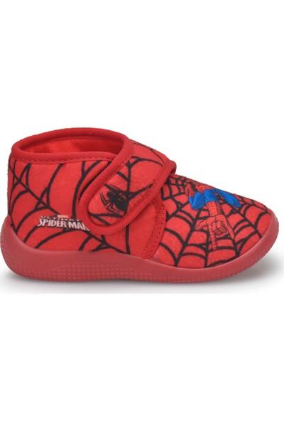 Spiderman Casa.B-1 Kırmızı Erkek Çocuk Panduf