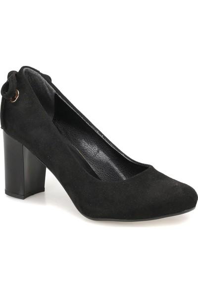 Miss F Dw18030 Siyah Kadın Gova Ayakkabı