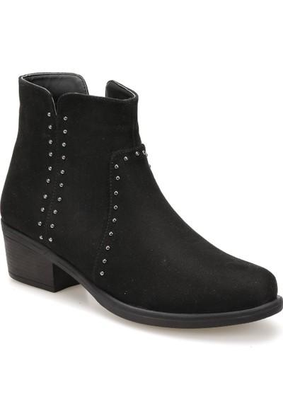 Miss F Dw18055 Siyah Kadın Basic Dress