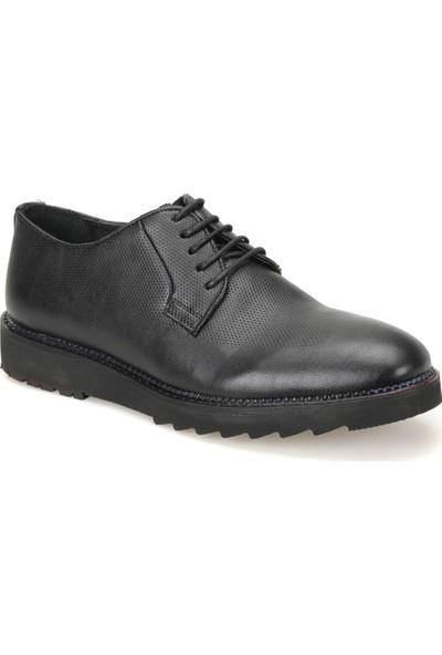 Garamond Ey-55 Siyah Erkek Deri Ayakkabı