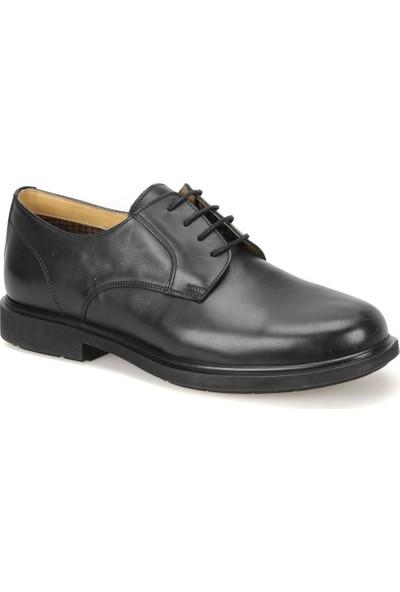 Flogart Gms-1 Siyah Erkek Deri Klasik Ayakkabı