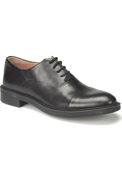 Mercedes Kalinic Siyah Erkek Deri Ayakkabı