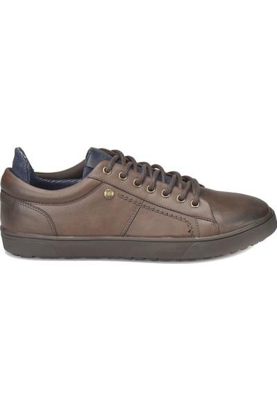 Mavi Ries Kahverengi Erkek Sneaker Ayakkabı