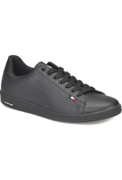U.S. Polo Assn. Franco Siyah Siyah Erkek Sneaker Ayakkabı