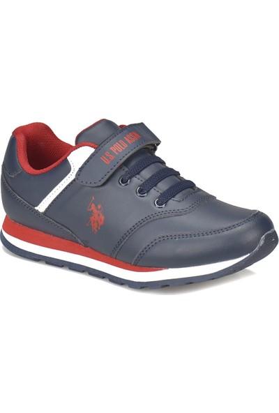 U.S. Polo Assn. Micro Wt Lacivert Erkek Çocuk Sneaker Ayakkabı