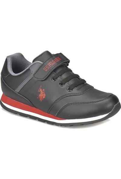 U.S. Polo Assn. Micro Wt Siyah Erkek Çocuk Sneaker Ayakkabı