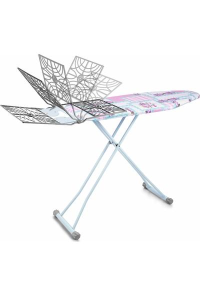 Doğrular Tomris Sepetli Ütü Masası - Mavi