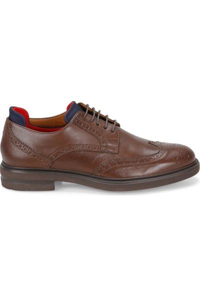 Rs4 10489 Kahverengi Erkek Deri Ayakkabı