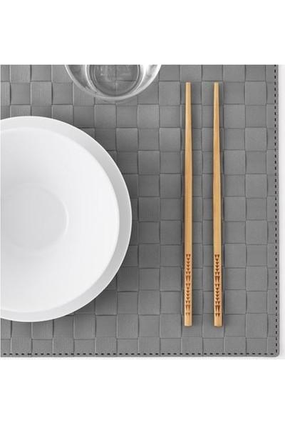 İkea Trebent Yıkanabilir Bambu Chopstıck Japon Çin Yemek Çubuğu