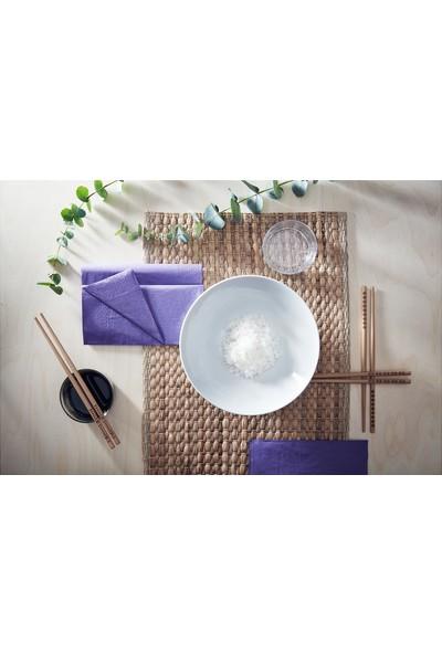 Ikea Trebent Yıkanabilir Bambu Chopstıck Japon Çin Yemek Çubuğu