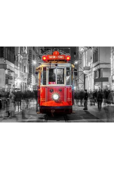 Cepmedya Taksim Temalı Kanvas Tablo