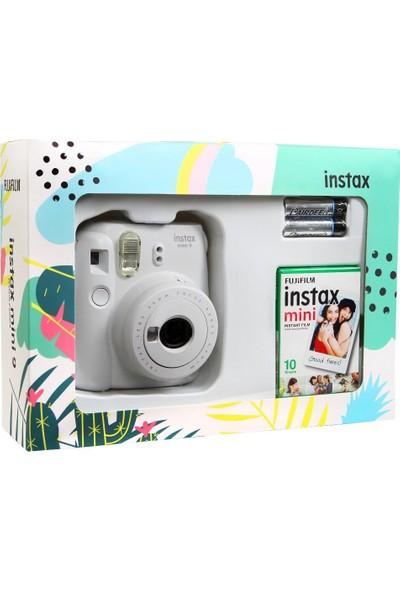 Fujifilm Instax Mini 9 Mini Kit - Beyaz