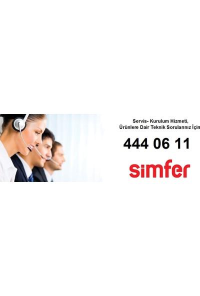 Simfer FS6210 A+ 6 Çekmeceli Derin Dondurucu