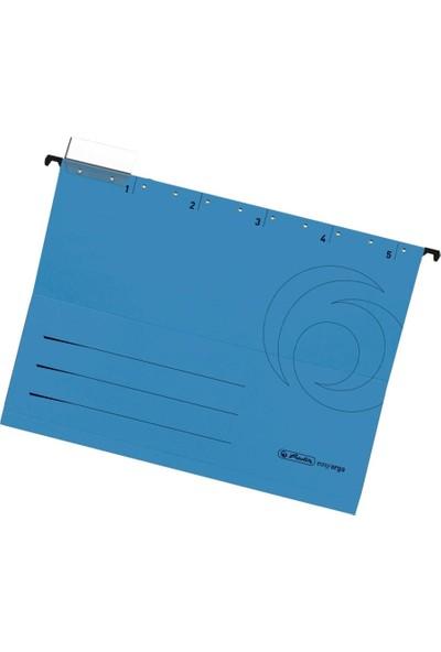 Herlitz Askılı Dosya 5Li Mavi 5874664